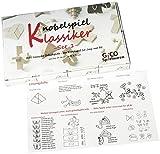8 beliebte Mini Knobel- / Geduldspiele im Geschenkkarton - 2