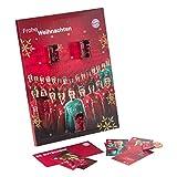 FC Bayern München XXL Adventskalender mit Autogrammkarten und 25 mal Vollmilch-Schokoladen Täfelchen
