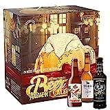 Kalea Bier-Adventskalender internationale Biere & Verkostungsglas