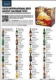 Kalea Bier-Adventskalender internationale Biere & Verkostungsglas - 4