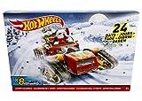 Hot Wheels Mattel Adventskalender inkl. 8 Fahrzeuge DSH60
