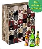 Bier-Adventskalender Weihnachtskalender mit 24 Bieren aus aller Welt