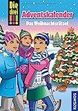 Die drei ??? Das Weihnachtsrätsel Adventskalenderbuch