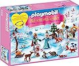 Adventskalender Eislaufprinzessin im Schlosspark, Playmobil 9008