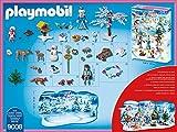 Adventskalender Eislaufprinzessin im Schlosspark, Playmobil 9008 - 2