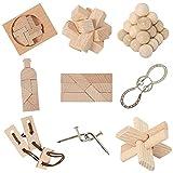 8 beliebte Knobelspiele aus Holz und Metall