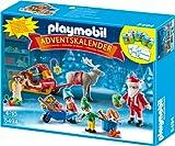 PLAYMOBIL Adventskalender - Weihnachtsmann beim Geschenke packen