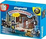 PLAYMOBIL Adventskalender - Polizeialarm! Schatzräuber auf der Flucht