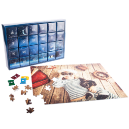 Puzzle-Adventskalender
