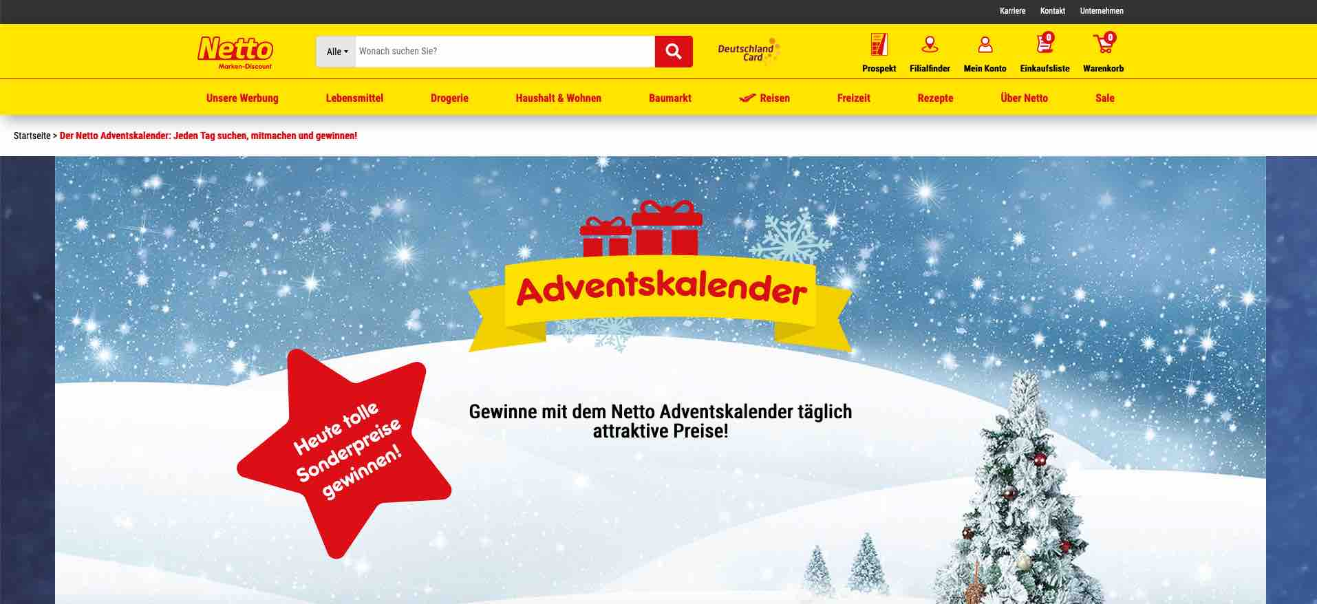 Netto Online Adventskalender